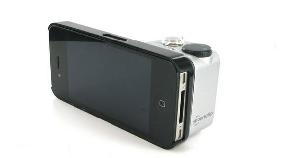 با snappgrip ایفون خود را به دوربین تبدیل کنید
