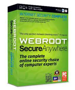 Webroot SecureAnywhere ۲۰۱۳