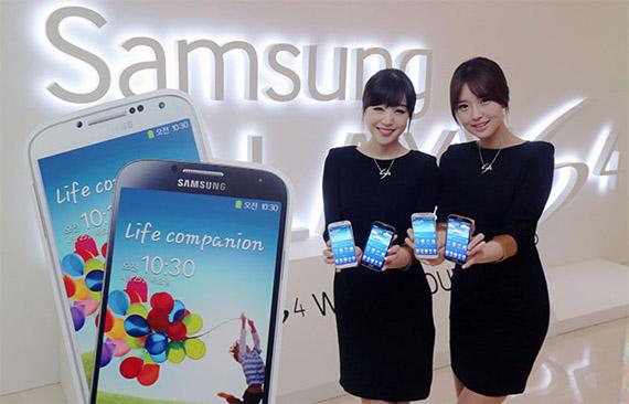 نسخه LTE-A گلکسی اس 4 با پردازنده Snapdragon 800
