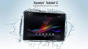 سونی Xperia Tablet Z