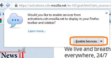 GOAL for Firefox
