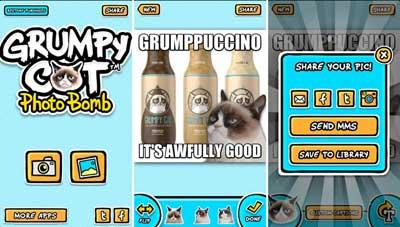 Grumpybomb – Grumpy Cat Photobomb