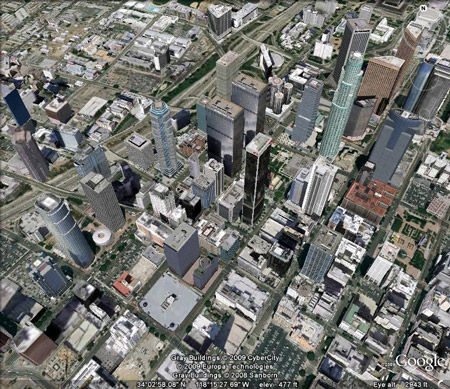 Los Angles in Google Earth