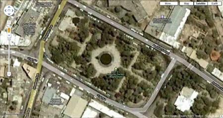 Maximum Zoom in Google maps, Jahrom, Iran