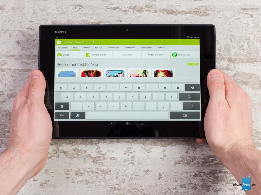 بررسی گرافیکی تبلت Sony Xperia Z2