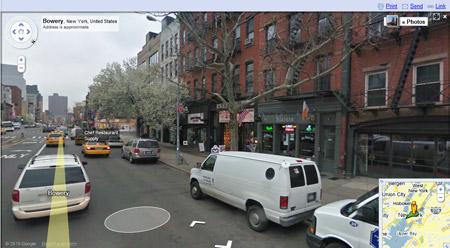 Street view in New York