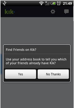 Kik Messenger 8