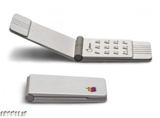 A-prototype-Apple-clamshell-phone