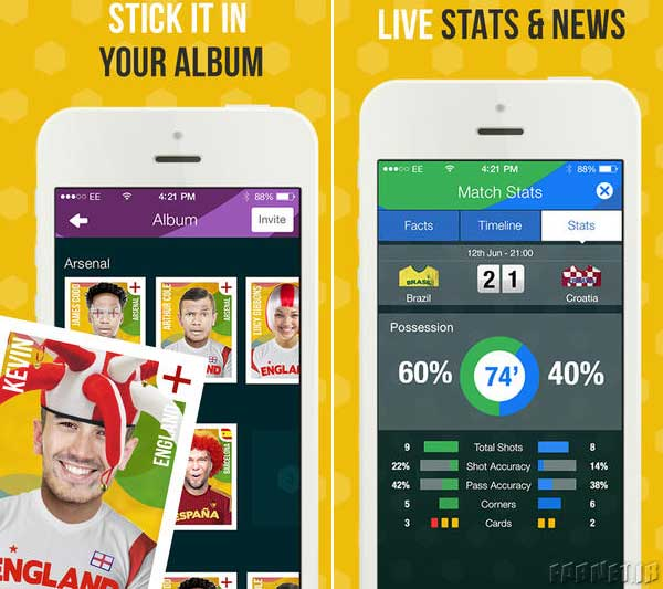 FootballAlbum-App