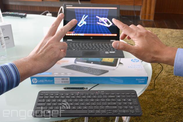 Leap-Motion-HP-keyboard