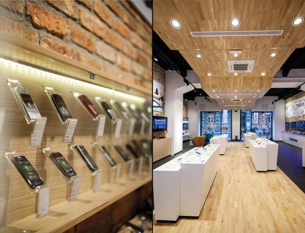 Smartphone-store