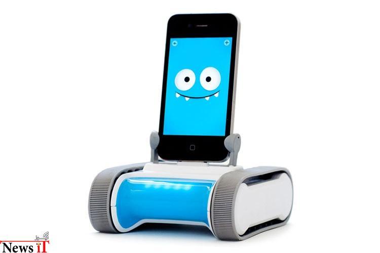 رومو، روبات+ تلفن هوشمند
