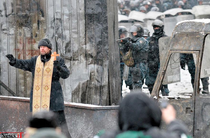 لحظات از صلح در، تظاهرات، 26