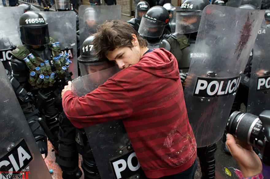 لحظات از صلح در-تظاهرات-3