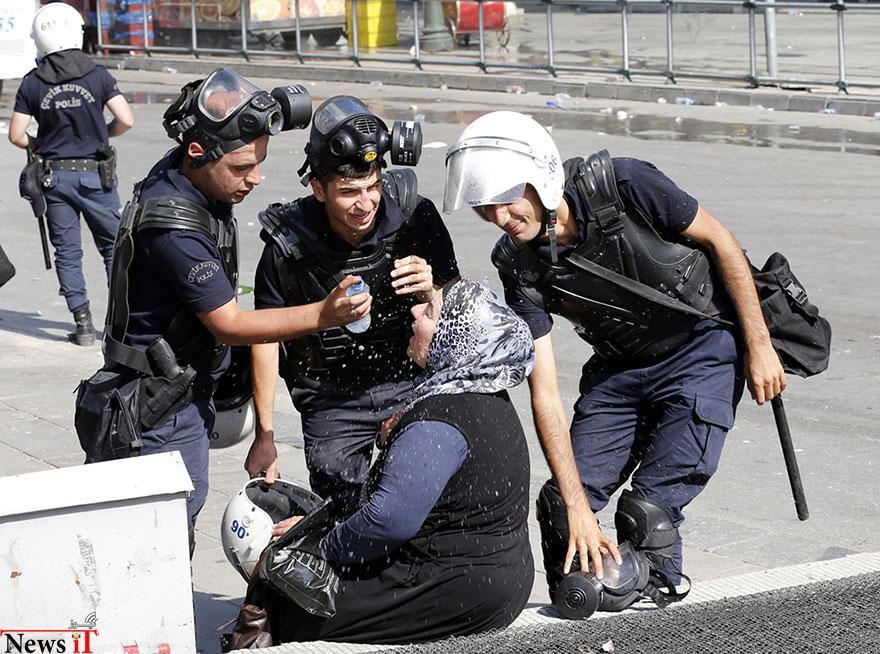 لحظات از صلح در-تظاهرات-4