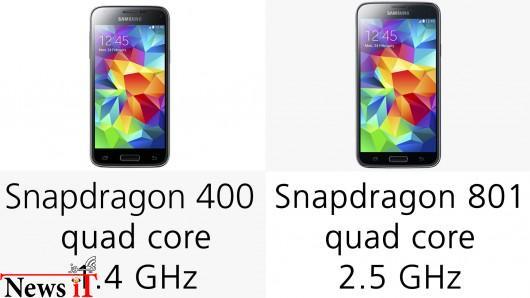 مقایسه Galaxy S5  و Galaxy S5 mini