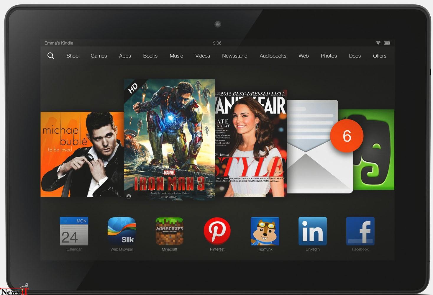 آمازون Kindle Fire HDX