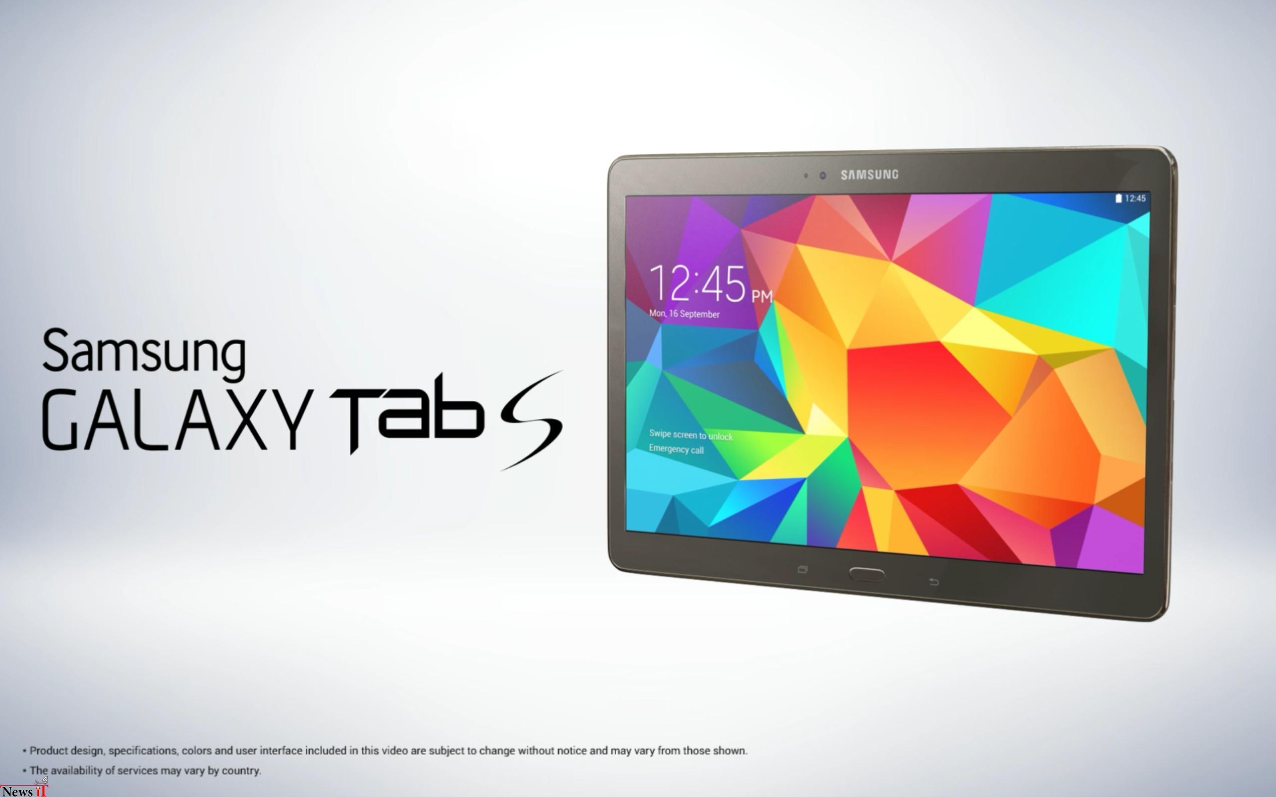 سامسونگ Galaxy Tab S