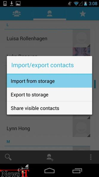 Sync Your Android Contacts4