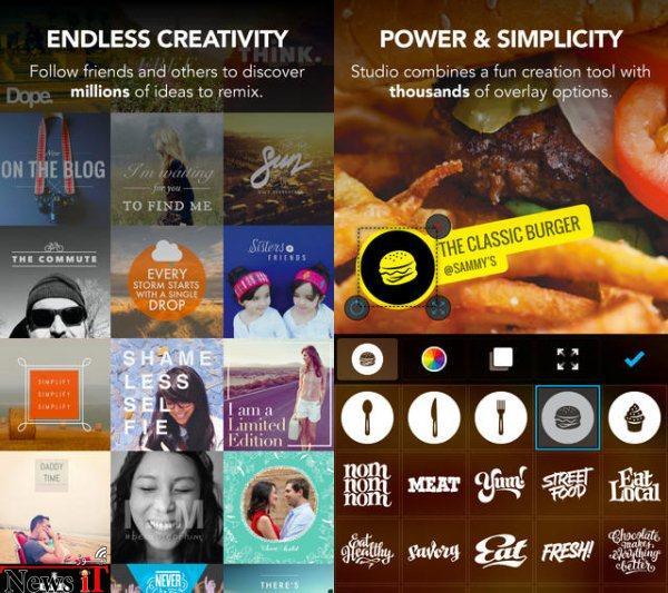 با Studio Design، عکس های خود را خلاقانه ویرایش کنید