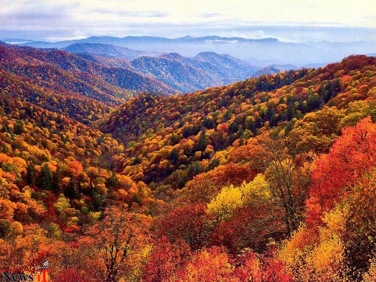 The Great Smokey Mountains, North Carolina, Tennessee, USA