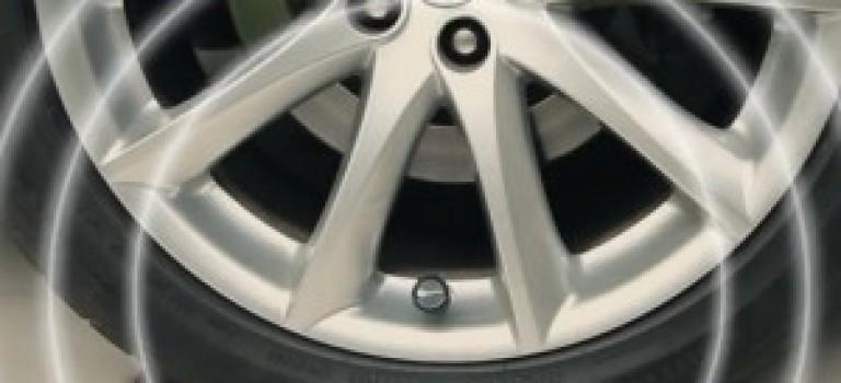 سنسور بلوتوثی چک کننده فشار وارد بر تایر خودرو