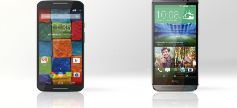 HTC One M8 بخریم یا (Moto X (2014