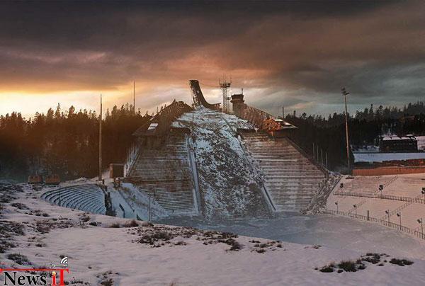 Holmenkollen-Ski-Slope-After