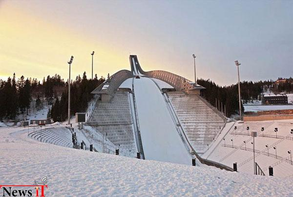 Holmenkollen-Ski-Slope-Before