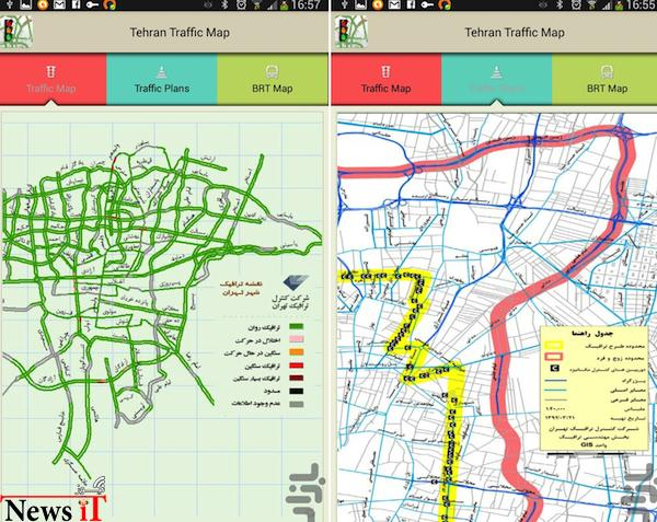 tehran-traffic-app
