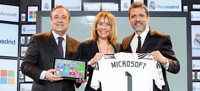 مایکروسافت اسپانسر ارزشمندترین تیم دنیا، رئال مادرید شد!