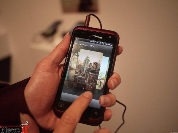 Rhyme موبایل دیگری بود که توسط HTC و به منظور جلب بانوان به صورت انحصاری از طریق اپراتور مخابراتیVerizon ارائه شد و توفیق چندانی به دست نیاورد.
