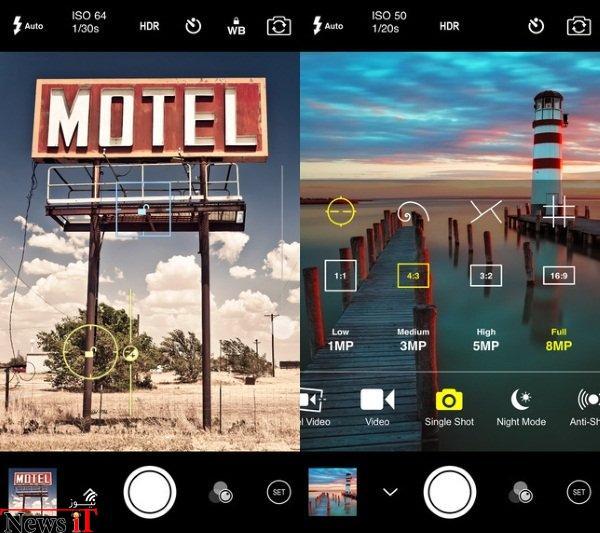 دستیابی به حداکثر قدرت دوربین آیفون با اپلیکیشن ProCam 2