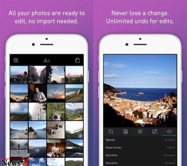 Darkroom برای iOS؛ اپلیکیشن ویرایش حرفه ای تصاویر که همیشه منتظرش بودید