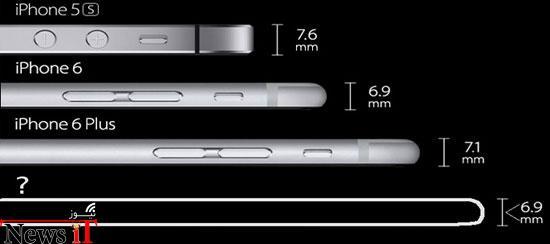 نازکتر از نازک؛ ۱۲ گوشی هوشمند باریکتر از آیفون ۶ اپل