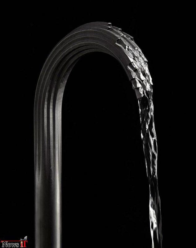 چاپگر سه بعدی و تولید شیر آب به سبکی هنرمندانه