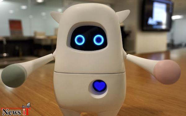 ربات هوشمندی که قصد دارد تبدیل به دوستی برای انسان شود